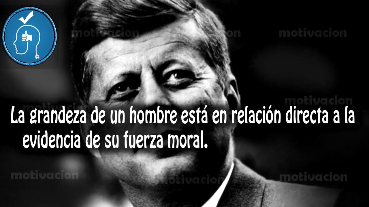 10 Frases Celebres De John F Kennedy