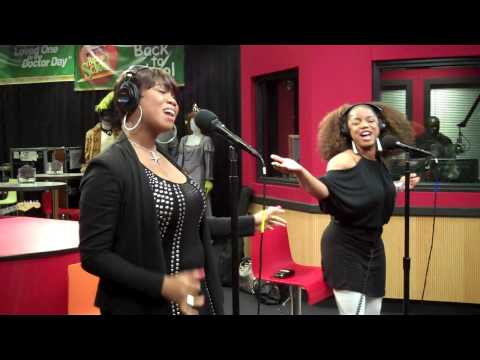 Leela James performs Tell Me You Love Me while visiting the Red Velvet Cake Studio.