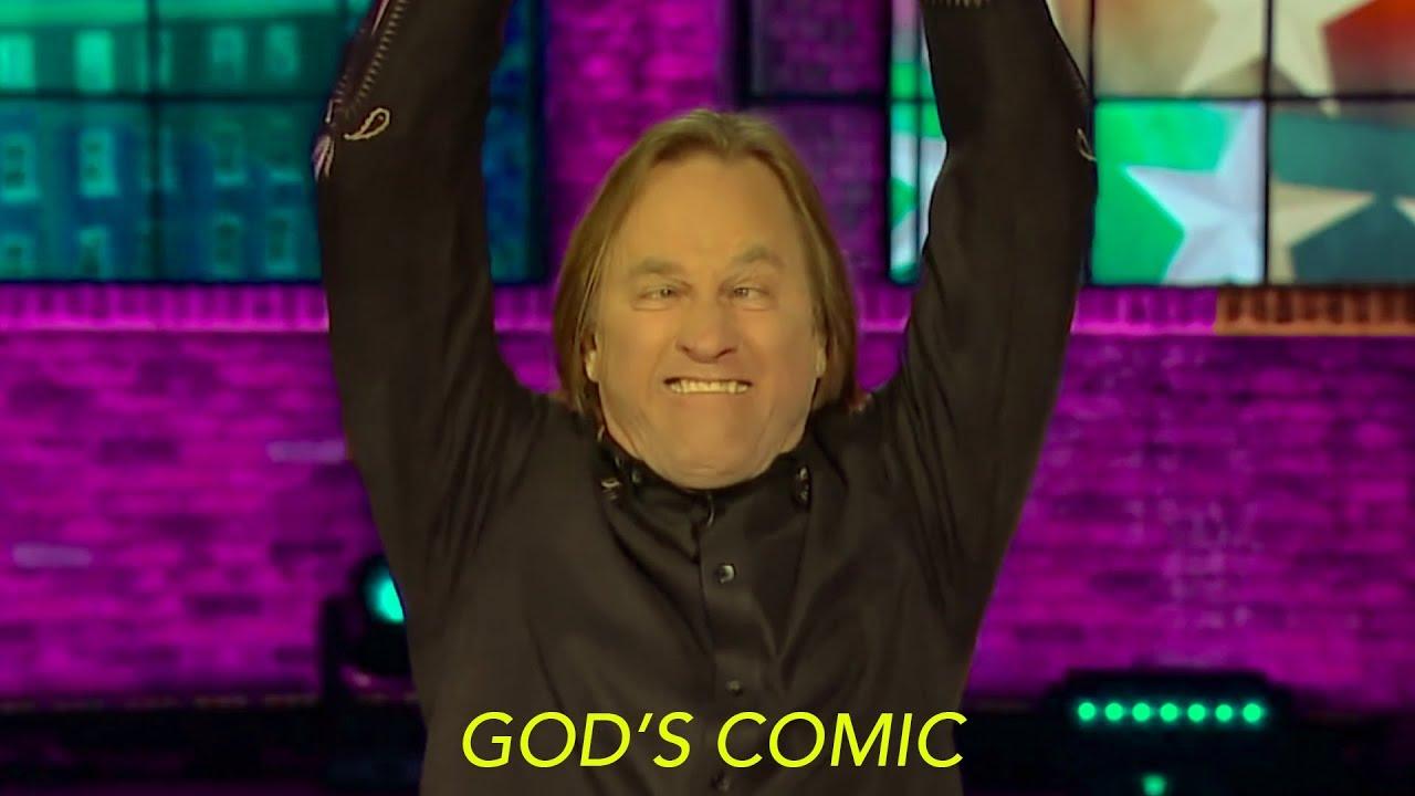 God's Comic Brad Stine KILLS on Huckabee