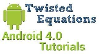 Android 4.0 Tutorials || 56. WebView - Part 2. Adding an external stylesheet