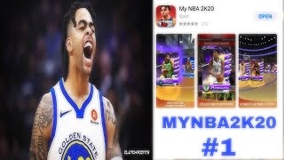 MYNBA2K20 #1 - My First Thoughts On The App!