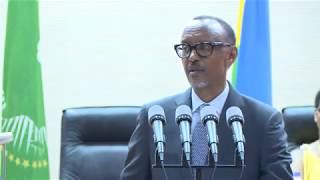 President Kagame speaks at the Swearing in of Judges | Kigali, 1 August 2018