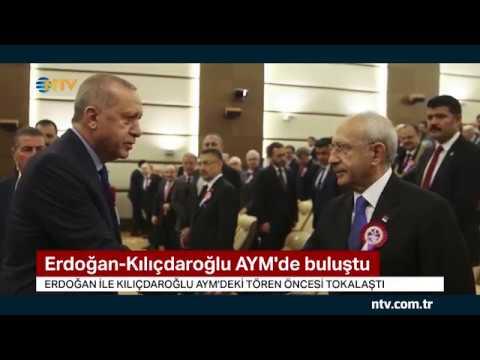 Erdoğan ile Kılıçdaroğlu AYM'de buluştu... (Çubuk'taki saldırıdan sonra ilk kez bir araya geldiler)