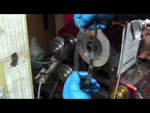 9x20 CNC Lathe - Drive Belt Stripped