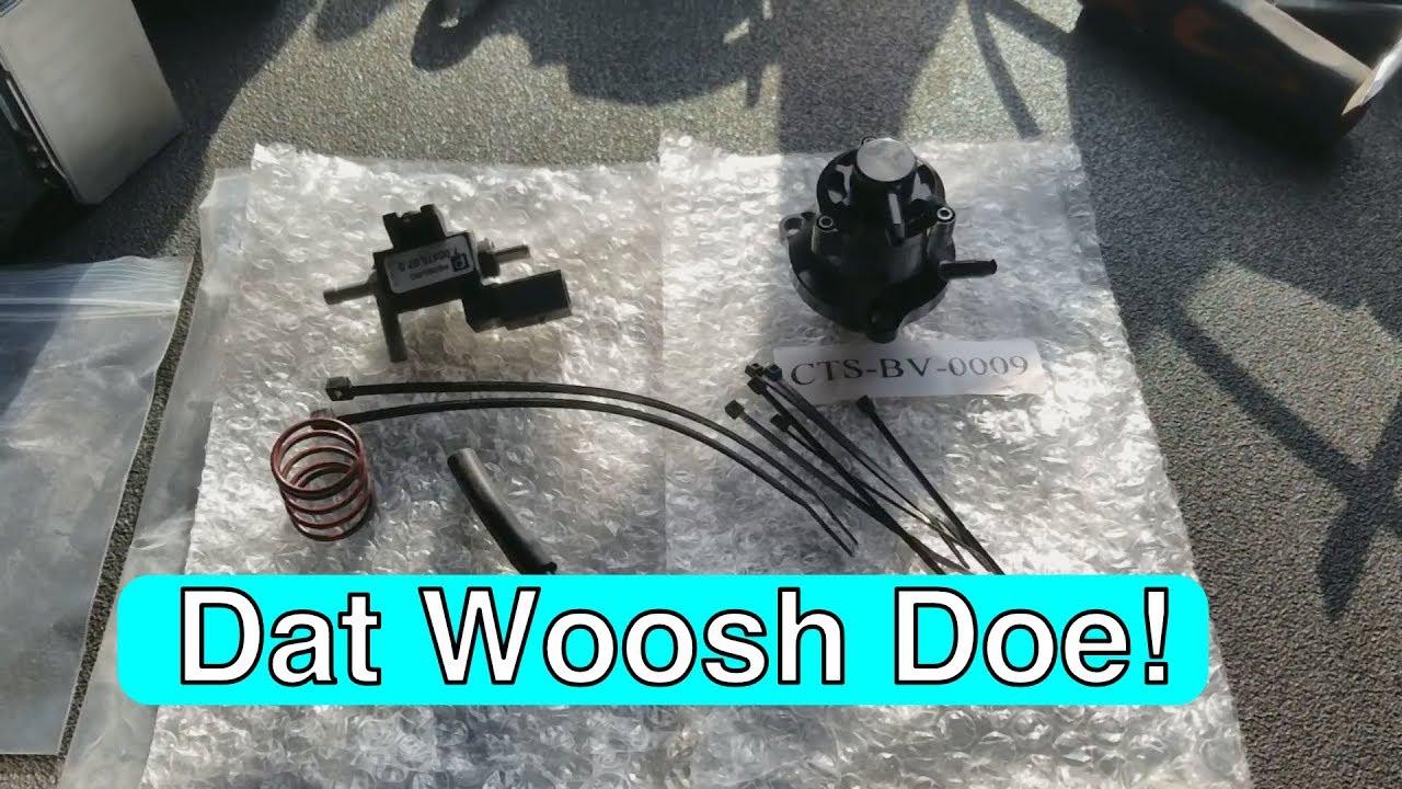 CTS BOV Install on MK7 Golf R | Dat Woosh Doe