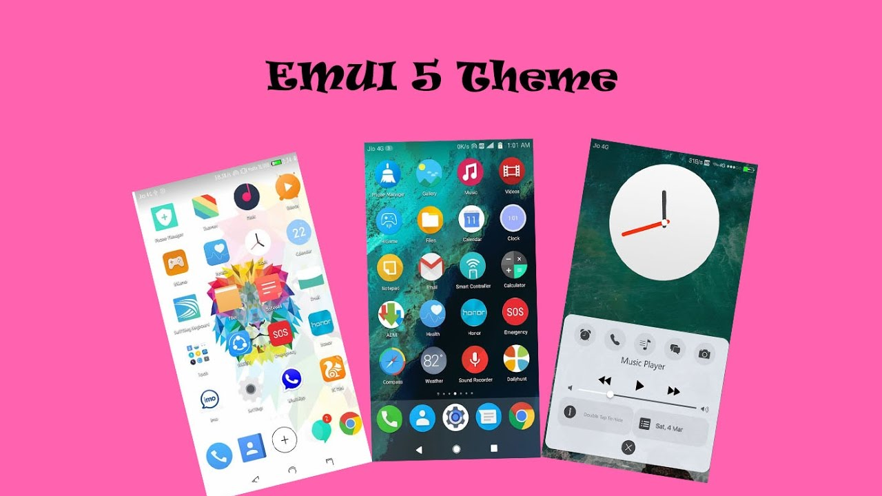 Latest Theme For EMUI 5 !! EMUI 5 Theme !! EMUI 5 Huawei Theme