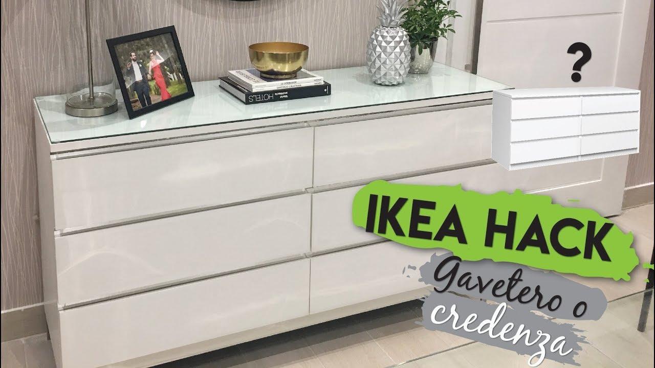 Ikea Malm Credenza : Ikea hack gavetero vs credenza diy youtube