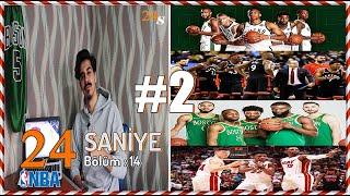 Toronto Raptors, Milwaukee Bucks Ve Giannis Antetokounmpo / 24 Saniye #S2B14