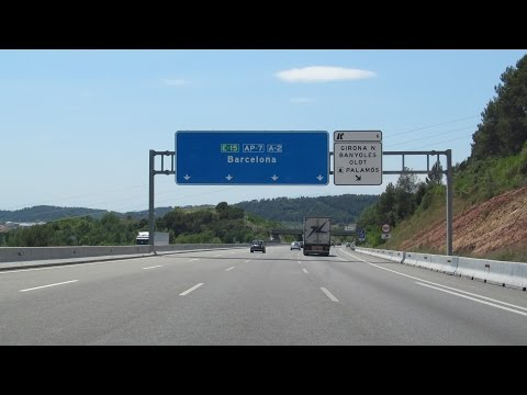 Spain: AP-7 La Jonquera  - Barcelona (150 km)