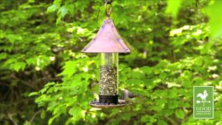 Good Directions T01b Medium Palazzo Bird Feeder - Polished Copper