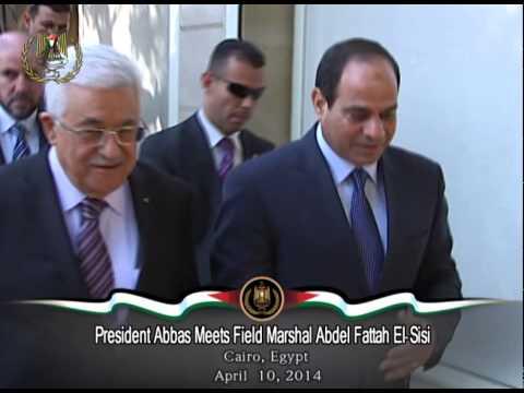 President Abbas Meets Field Marshal Abdel Fattah El Sisi