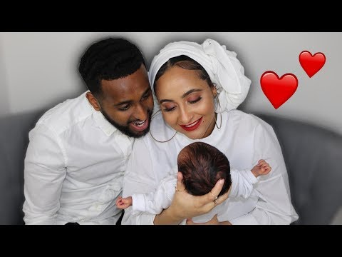 BABY FACE REVEAL!! *MEET OUR SON*