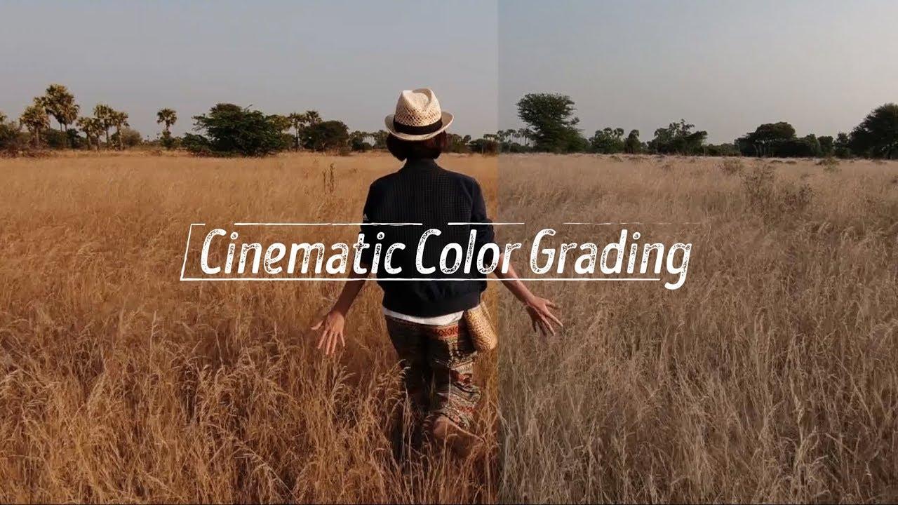 Chỉnh màu đẹp như phim điện ảnh – Free LUT // Premiere Pro CC