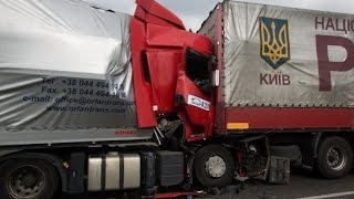 Best truck crashes, truck accident compilation 2014 Part 24