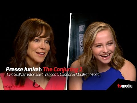 Evie Sullivan hautnah: 'The Conjuring 2' | Frances O'Connor & Madison Wolfe