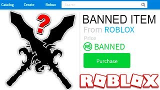 HACKER gave me this BANNED ROBLOX ITEM!