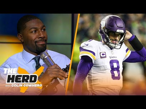 Greg Jennings on being wrong about Kirk Cousins, talks Dak's value for the Cowboys   NFL   THE HERD