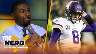 Greg Jennings on being wrong about Kirk Cousins, talks Dak's value for the Cowboys | NFL | THE HERD
