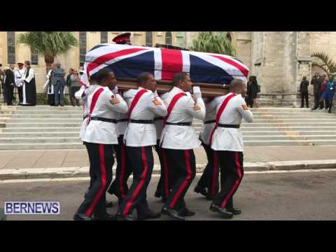 Regimental Funeral of Colour Sergeant Keith Whorms, Dec 2016