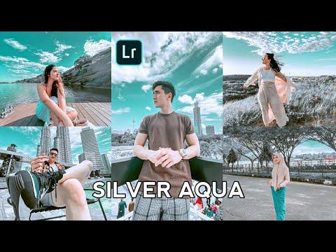 Tutorial edit foto Ala selebgram | Silver Aqua | Lightroom tutorial