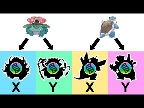 Future Pokemon Mega Evolutions: Mega Blastoise X,Y And Mega Venusaur X,Y #2