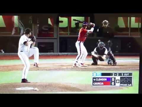"Clemson Baseball // Beer's ""Moonshot"" at Georgia – 4/5/16"