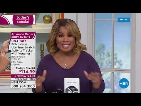 HSN   Electronic Connection Featuring Fitbit 08.03.2019 - 05 AM