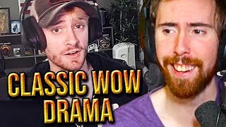 Asmongold Reacts To Classic WoW Drama: Dire Maul SOON & Hong Kong DRAMA - Staysafe