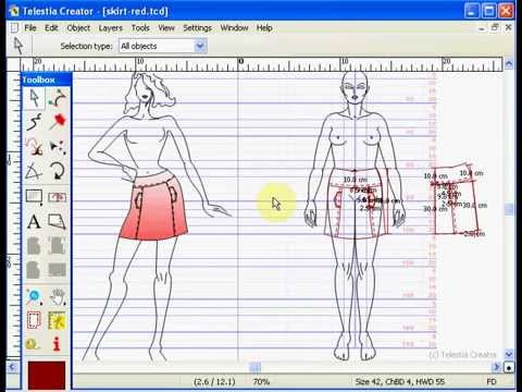 Cad fashion design software youtube for Layout drawing software free