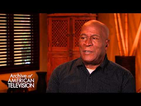 John Amos discusses working with Louis Gossett Jr on Roots EMMYTVLEGENDS.ORG