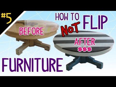 How NOT to Flip Furniture - BONUS! Pt 5 of 4