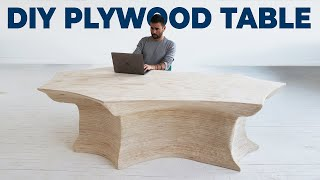 DIY Plywood Table | Built for Andrew Schulz