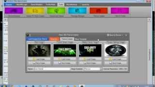Tuto image de joueur et thème interface xbox