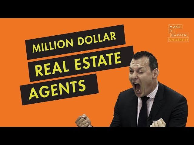 Million dollar real estate agents