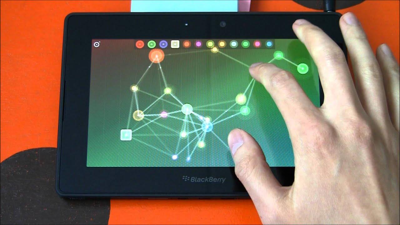 PlayBook add-on (ofxQNX) — Multigesture net