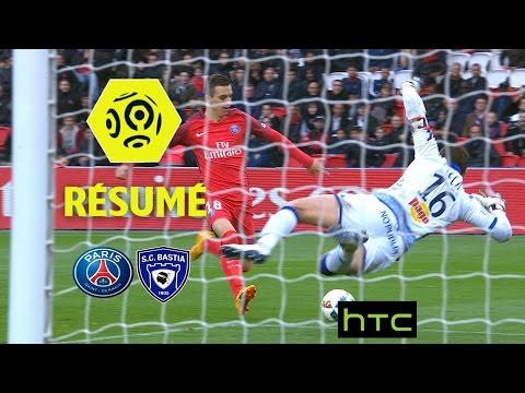 Paris Saint-Germain - SC Bastia (5-0)  - Résumé - (PARIS - SCB) / 2016-17