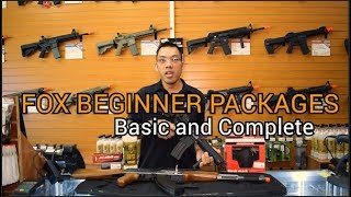 The Best Beginner Airsoft Gun & Starter Packages from Fox Airsoft