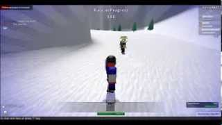 ROBLOX Cloud 9 Snowboarding Game Gameplay