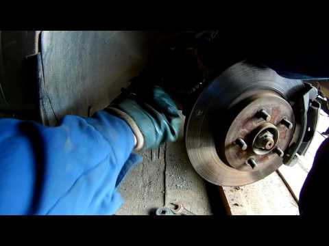 Замена рулевого наконечника Ford Mondeo Replacing the steering tip Ford Mondeo 3