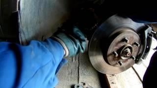 Замена рулевого наконечника Ford Mondeo,Focus/Replacing the steering tip Ford Mondeo 3,Focus 2