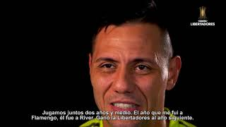 Los jugadores de FLAMENGO hablan sobre RIVER | CONMEBOL Libertadores