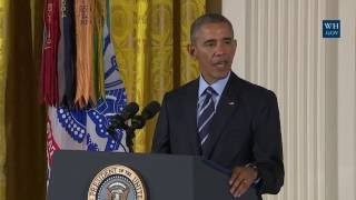 President Obama Presents the Medal of Honor