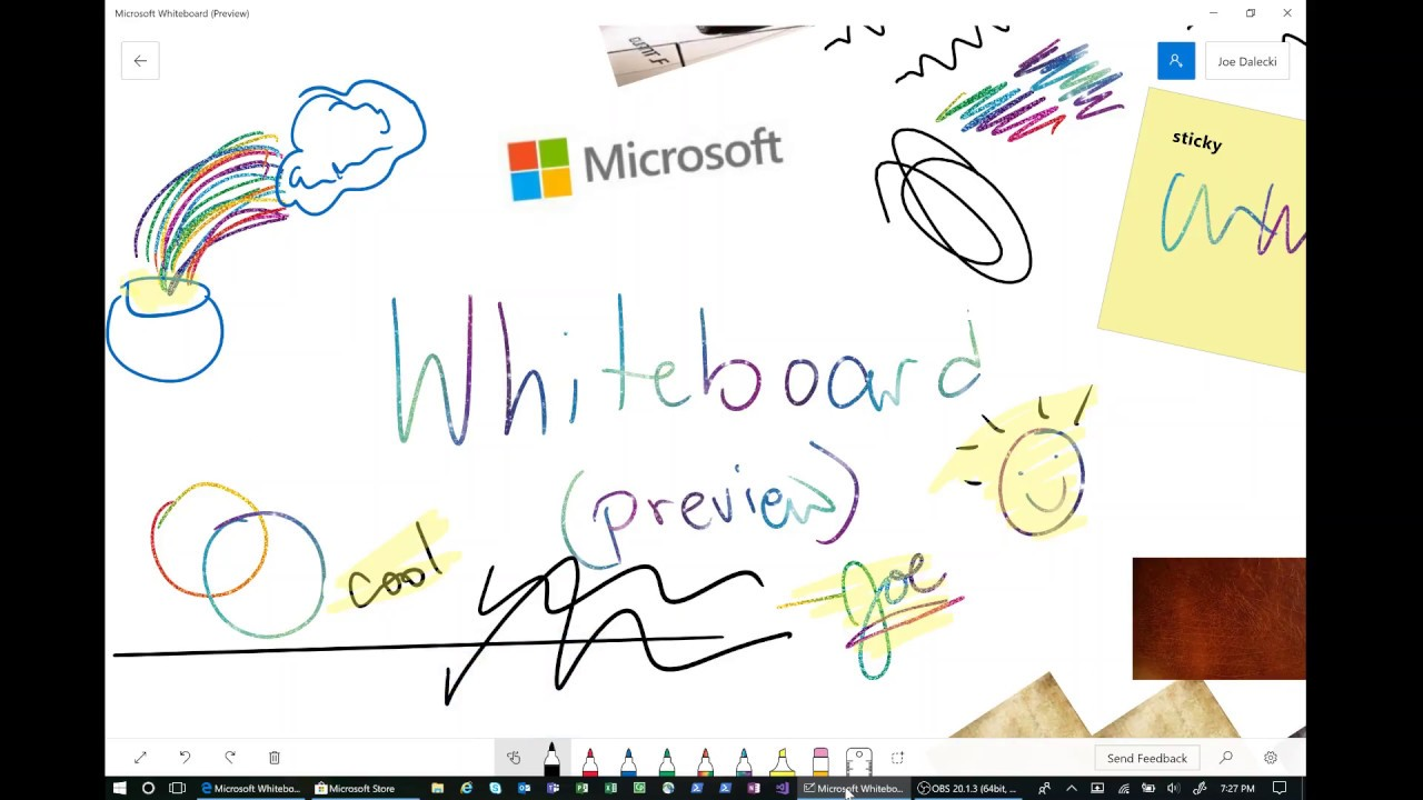Introducing: Microsoft Whiteboard (Preview) - YouTube