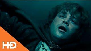 Сэмуайз Гэмджи плывет за Фродо ✦ Властелин колец: Братство кольца (2001)