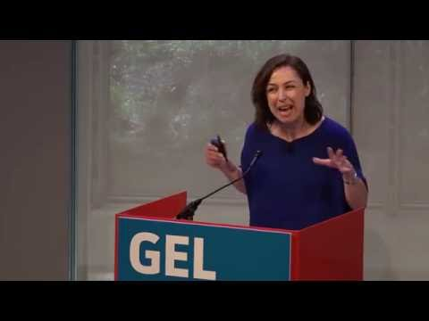 Manoush Zomorodi, Host of WNYC's Note To Self podcast, at Gel 2016