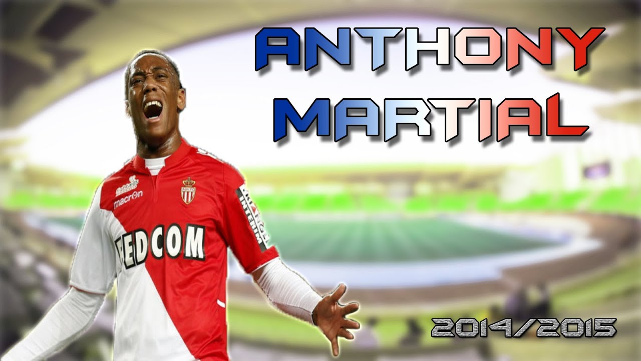 Anthony Martial AS Monaco 2014/2015 Goals Skills Assists