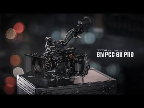 All-New Tilta Camera Cage for BMPCC 6K Pro w/ EVF Support