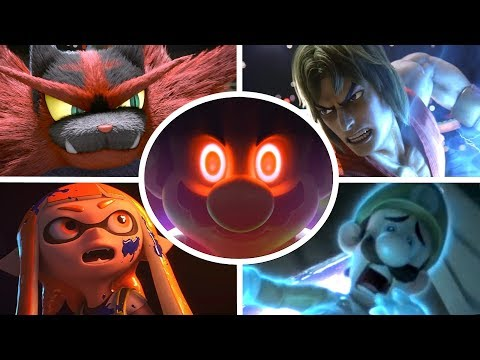 Super Smash Bros Ultimate All Cutscenes Cinematic Movie All Characters Trailers (Switch & Wii U) thumbnail