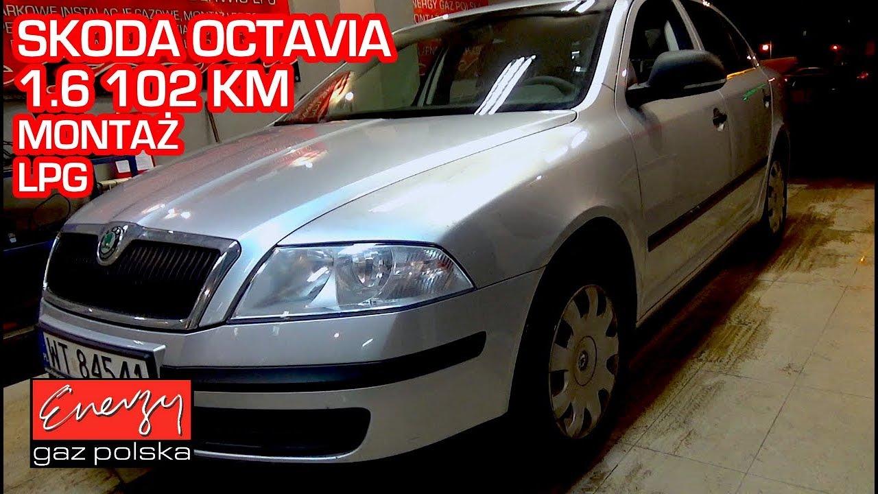 Montaż LPG Skoda Octavia z 1.6 102KM 2012r w Energy Gaz Polska na gaz BRC Sequent 32