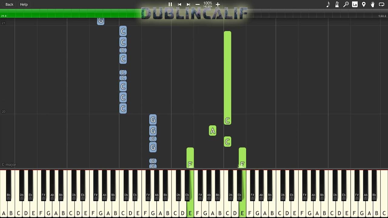 Mario kart 64: rainbow road trombone duet sheet music for.